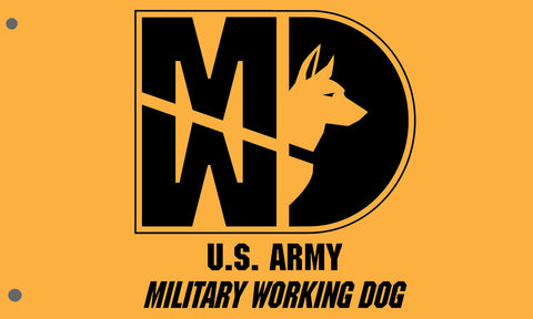 Image of 31 Kilo Army MP K-9 MWD Flags