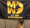 31 Kilo Army MP K-9 MWD Flags