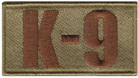 SF K-9 Spice Brown Shoulder Multicam/OCP Patch - 2 Pack