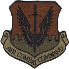 Air Combat Command (ACC) Majcom Spice Brown OCP Patch - 2 Pack