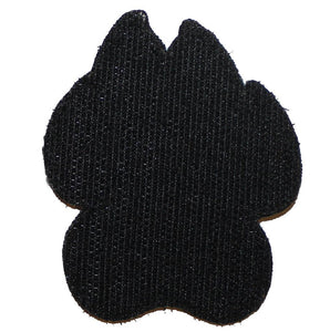 American Flag Black/Grey K9 Paw - 2 Pack