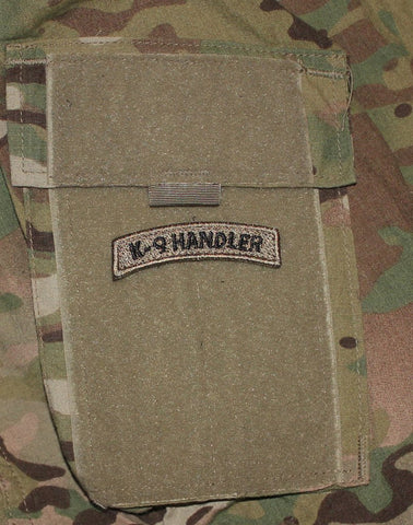 Image of K-9 Handler Tab Brown Patch - 2 Pack