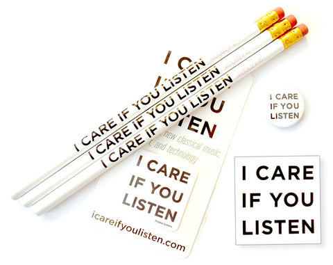 I CARE IF YOU LISTEN Goodie Pack