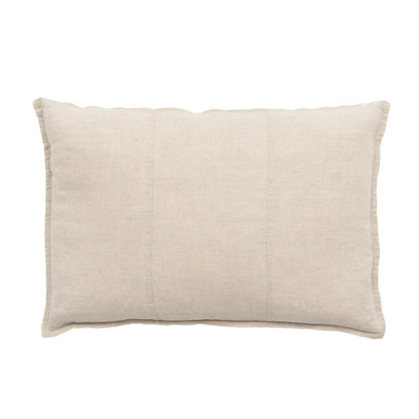 LUCA LINEN RECT. CUSHION NATURAL - Maissone - 1