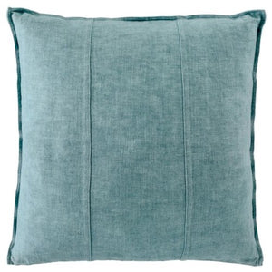 Luca Linen Sea Mist Square Cushion