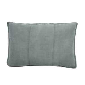 LUCA LINEN RECT. CUSHION SILVER GREY - Maissone - 1