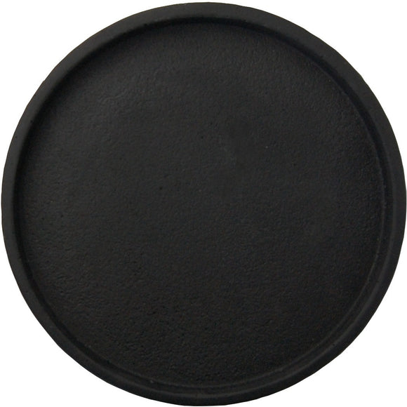 Concrete Round Tray Large Black - Maissone