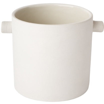 Handle Pot Small White
