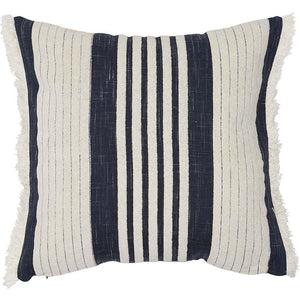 Chilled Cushion Square Navy/White - Maissone