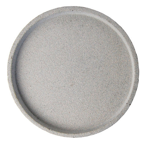 Concrete Round Tray Large Natural - Maissone