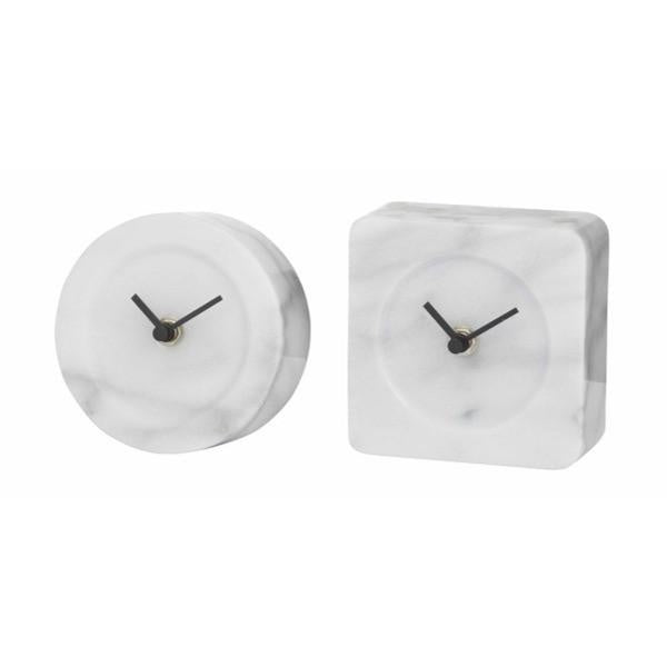 Maddy Marble Mantle Clock