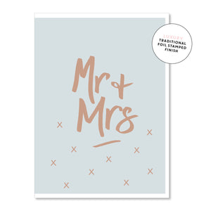 Card Mr & Mrs - Maissone