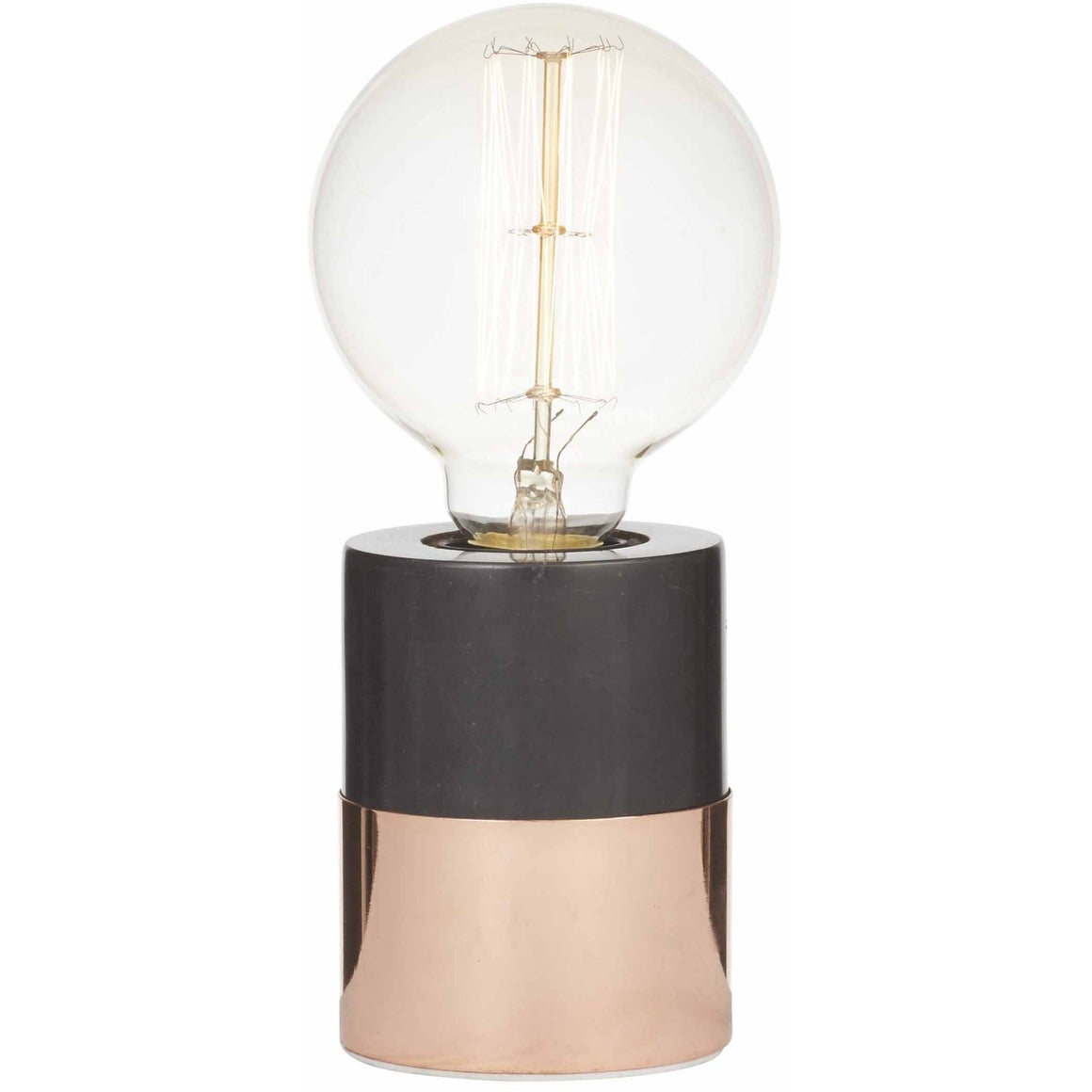 Kenzie Table Lamp Black Marble