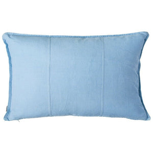 Luca Linen Rectangle Cushion Soft Blue - Maissone