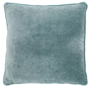 Lynette Cotton Velvet Cushion Sea Mist - Maissone