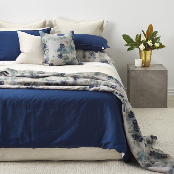Duvet Indigo + Natural