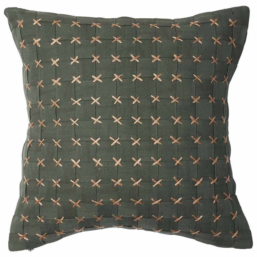 Flette Khaki Cushion - Maissone