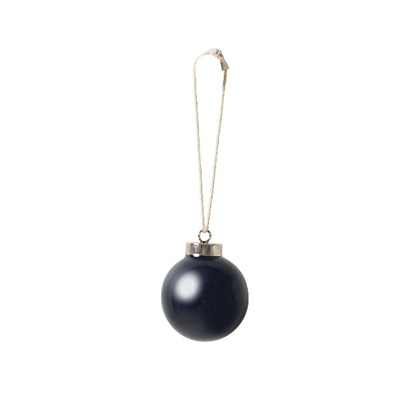 Ceramic Bauble Navy - Maissone