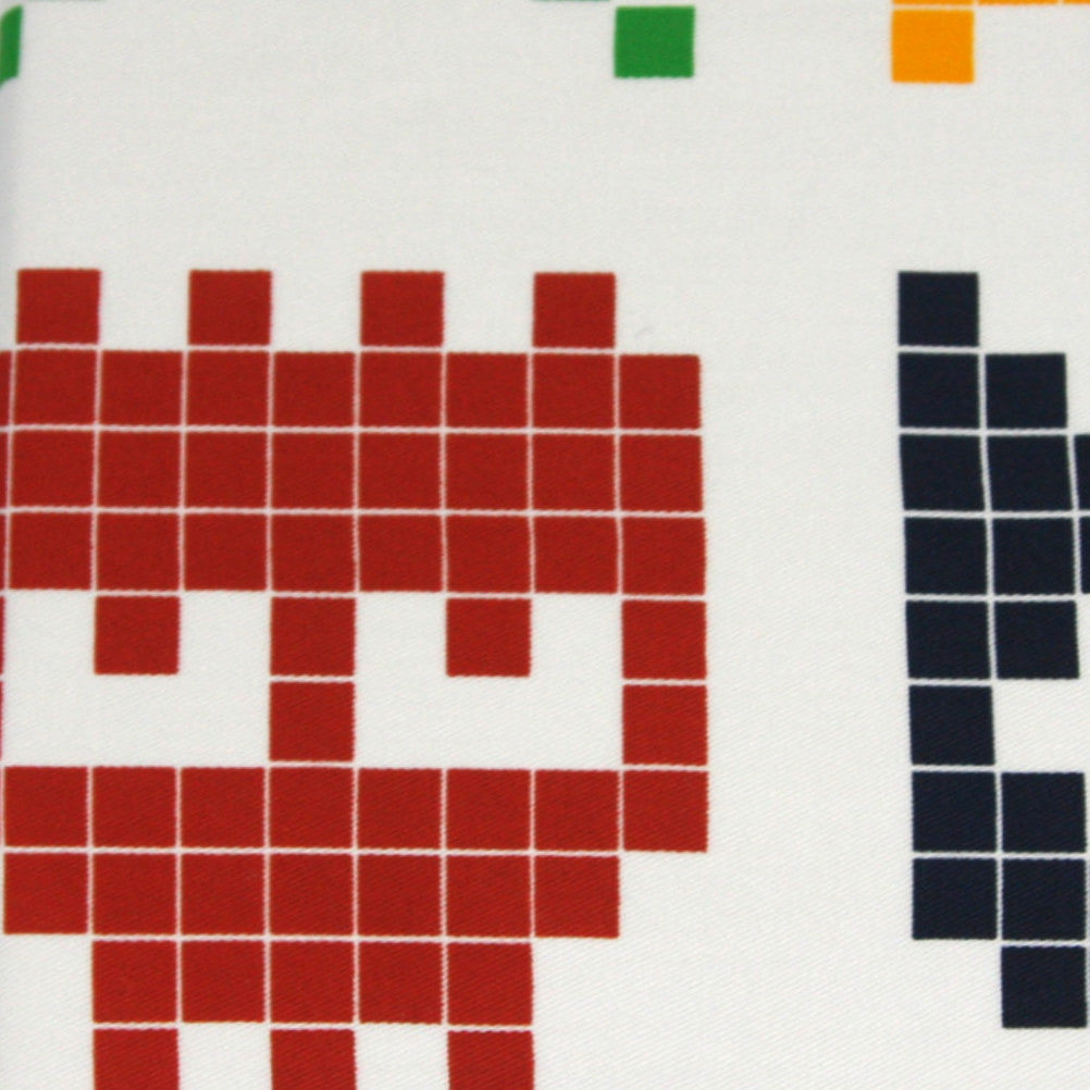 Pillowcase Printed Space Invaders - Maissone