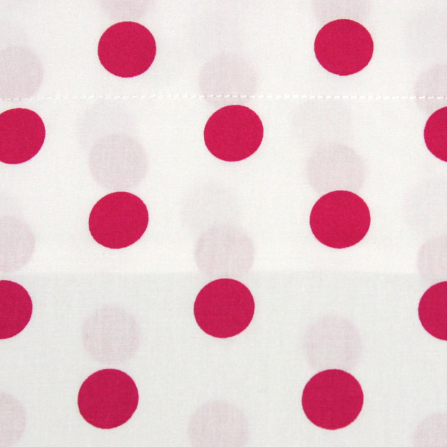 Pillowcase Oxford Pink Spot - Maissone