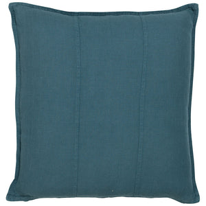 Luca Linen Square Cushion Ocean - Maissone