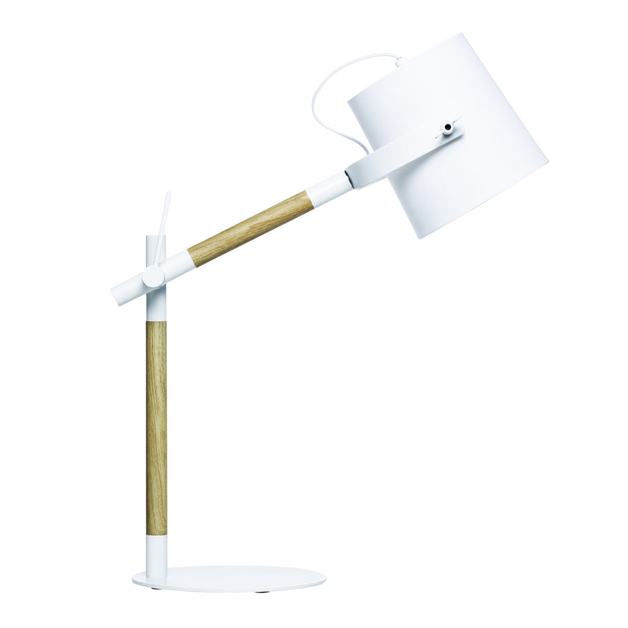 Norman Table Lamp White - Maissone