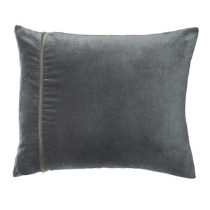 Linlas Velvet Cushion Slate - Maissone