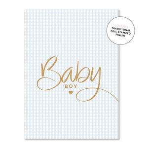 Baby Boy Gingham - Maissone