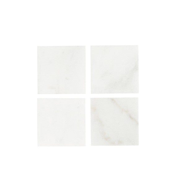 Artic Marble Square Coasters Set of 4 - Maissone