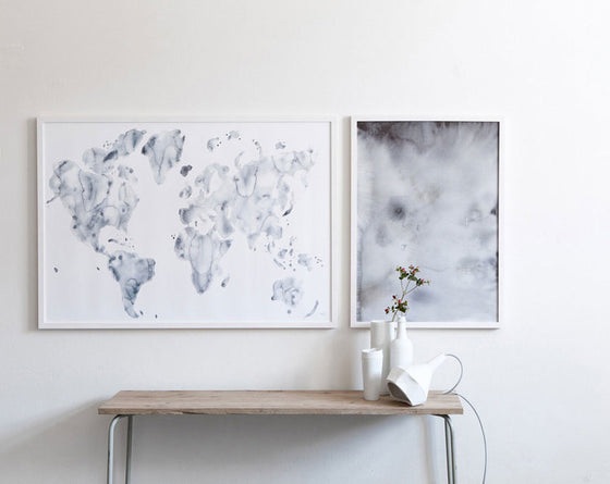 Blue World Art Print