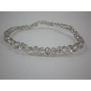 Bracelet With 4Mm Crystal - Silver - Maissone