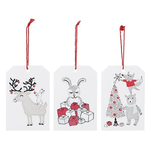 Gift Tag White Paper S/6