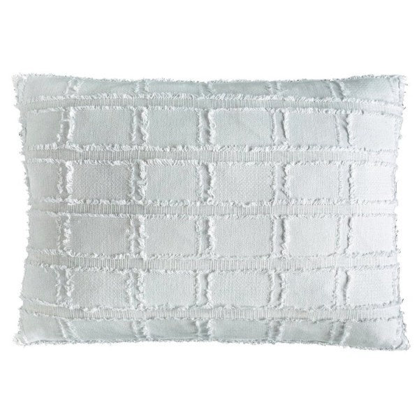 Bedu Rectangle Cushion White - Maissone