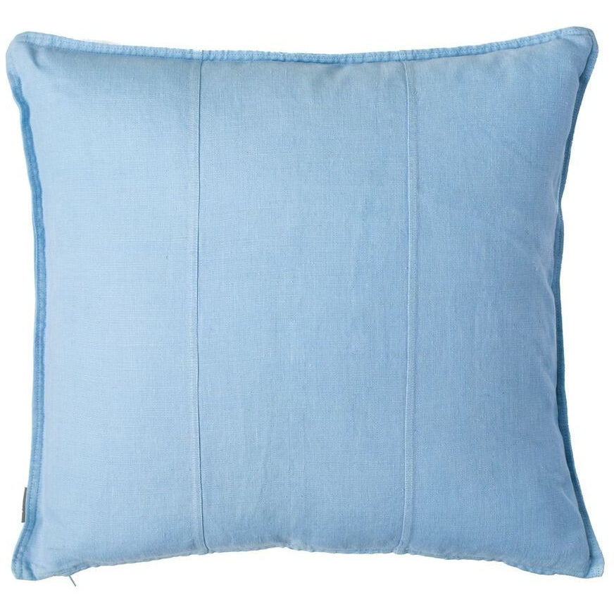 Luca Linen Soft Blue Square