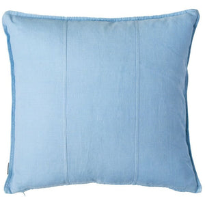 Luca Linen Square Cushion Soft Blue - Maissone