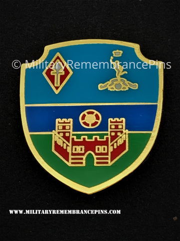 Royal Corps Of Signals 22 Signal Regiment Pre 1992 (Lippstadt) Lapel Pin