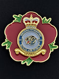 233 Sqn Operational Conversion Unit OCU Remembrance Flower Lapel Pin