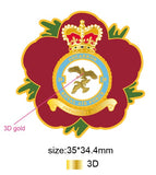 29 Sqn Royal Air Force Remembrance Flower Lapel Pin