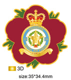 31 Sqn Royal Air Force Remembrance Flower Lapel Pin