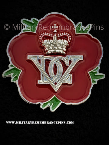 5th Royal Inniskilling Dragoon Guards Remembrance Flower Lapel Pin