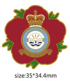 617 Sqn Royal Air Force RAF Remembrance Flower Lapel Pin