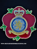 78 Sqn Royal Air Force RAF Remembrance Flower Lapel Pin