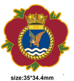 829 Naval Air Squadron Remembrance Flower Lapel Pin