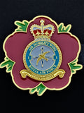 1 Air Mobility Wing Royal Air Force AMW Remembrance Flower Lapel Pin