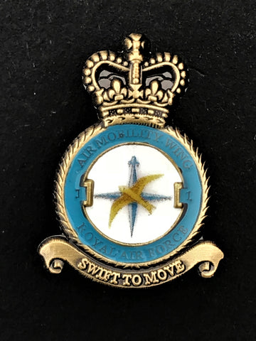 Air Mobility Wing Royal Air Force Remembrance Unit Lapel Pin