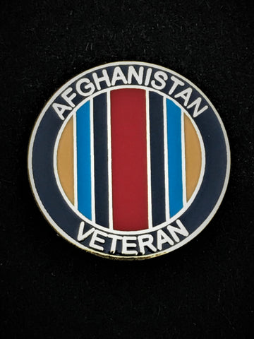 Afghanistan Veteran Campaign Colours Lapel Pin