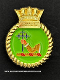 HMS Antrim Royal Navy Ships Crest Lapel Pin