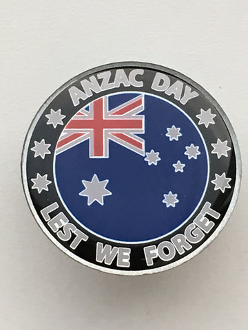 Anzac Day Support Pin (ANZAC)