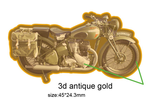 BSA M20 Motorbike Motorcycle Vehicle Lapel Pin