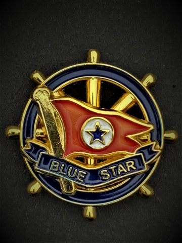 Blue Star Lines Merchant Navy Colours Lapel Pin